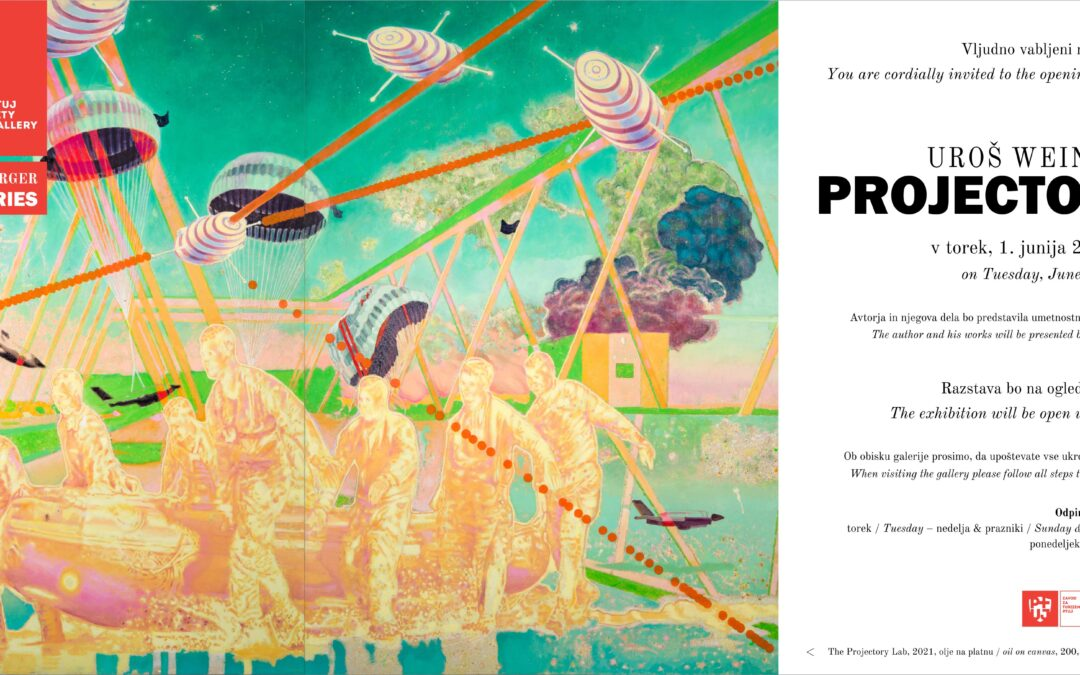 Exhibition   Uroš Weinberger: Projectories