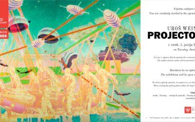 Exhibition | Uroš Weinberger: Projectories